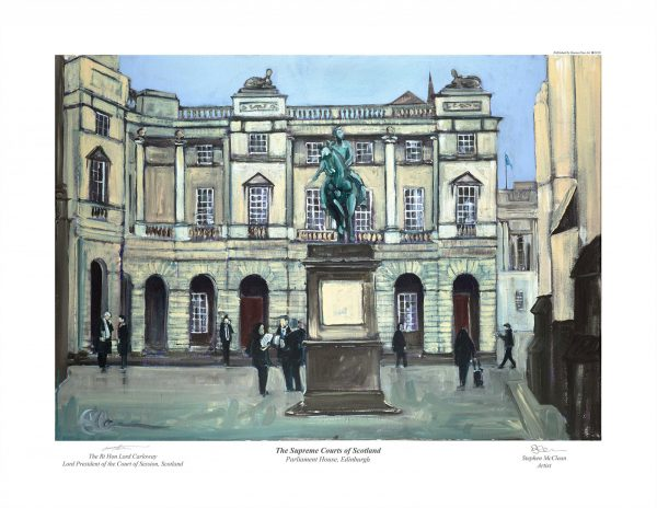 The Supreme Courts of Scotland - Limited Edition Print