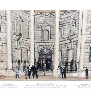 Entering the Four Courts Limited Edition Print